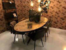 Teak Esstisch Accent Massivholz Holztisch Dinnertisch Tisch Esszimmertisch 240cm