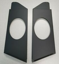 60-66 Chevy, GMC, C10 Rear 6x9 Steel Speaker Panels with powder coat.