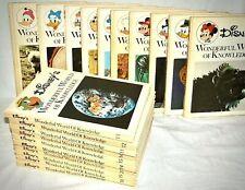 More details for disney's wonderful world of knowledge 1973 hardback books volumes 1 - 20