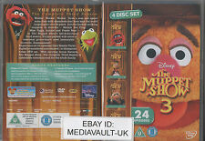 THE MUPPET SHOW SEASON 3 DISNEY DVD - 4 DISC SET - BRAND NEW SEALED - UK RELEASE