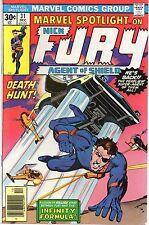 MARVEL SPOTLIGHT #31 Nick Fury 1976 VG-F