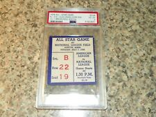 1936 Baseball All Star Game Ticket - Lou Gehrig Homerun - PSA 4