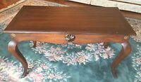 Baker Milling Road Console End Table English Provincial Cabriole Legs 1 of 2
