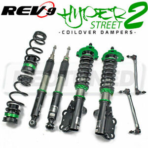 REV9 HYPER-STREET 2 COILOVER SUSPENSION KIT FOR TOYOTA CAMRY SE/XSE FWD 2018-21