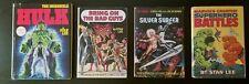 1976 Marvel Comics Bring On The Bad Guys Hardbound Stan Lee Book - Marvelmania!