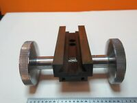 SPENCER KNOBS STAGE AMERICAN OPTICS MICROSCOPE PARTS AS PICTURED &FT-5-12