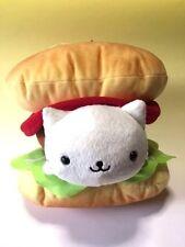 Nyanko Burger / Plush Doll  Big / Cat / Food / San-X /Japan / Kawaii / Free Ship