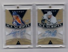 SIDNEY CROSBY 2013-14 TRILOGY ICE SCRIPTS AUTOGRAPH ACETATE CARD