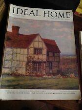 IDEAL HOME GENNAIO 1948 RIVISTA ORIGINALE VINTAGE ARREDAMENTO HOME GARDENING