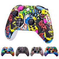 Skin Protective Grip Cover Case For Microsoft Xbox One Controller Gamepad pf
