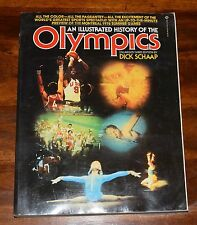 AN ILLUSTRATED HISTORY OF THE OLYMPICS DICK SCHAAP ENLARGED 3RD EDITION SC 1976