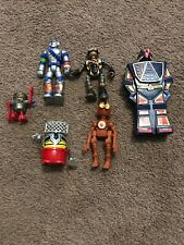 Vintage Lot Of 6 Robot Robots Space Toys Wind Up & Others