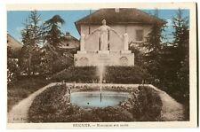CPA 74 Haute-Savoie Reignier Monument aux Morts