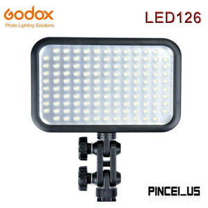 Godox LED126 LED Video Light LED Panel Photography Fill Light With 126PCS Beads