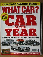 What Car Awards Issue 2017 Micra Peugeot 3008 C-HR Seat Ateca BMW 5 Series Up