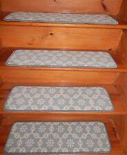 "14 = Step  9"" x 30""  Stair Treads Step WOVEN WOOL CARPET."