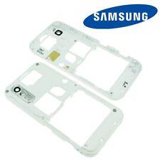 Original Samsung S5230 Mittel Gehäuse Rahmen Backcover Rück Schale Cover Weiß