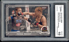2014 Ronda Rousey Topps UFC Champions Rookie Gem 10 #76