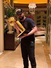 Drake OVO Nba Championship Trophy 8x10 Photo