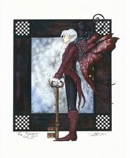 "Amy Brown Art Print 8.5""x11"" Fairy Faery The Secret Skeleton Key Boy Man Guy New"