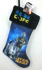 "20"" STAR WARS Disney Christmas Holiday Stocking - R2D2 & C3PO"