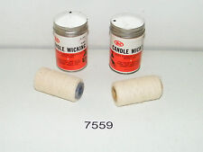 2 Spools Of Fine Candle Wicking Plumbing Thread Sealant Plumbing Connections
