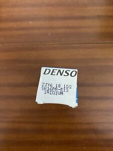 Spark Plugs X1 Denso Mamzy ZJY618110 IFR5E13 Genuine Top Quality Guaranteed New