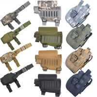 Outdoor Hunting Molle Tactical Pistol Gun Holster, Bullet Pouch Holder