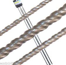 SDS Plus Trapano 1000mm lungo set 3 dimensioni (12, 16 & 24mm) senza imballaggio originale