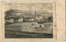 Primi anni 1900 Casteggio - Vista dalla Piazza Coppa, Peso Pubblico - FP B/N VG