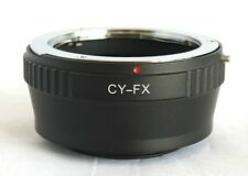 C/Y CY Lens to Fujifilm X-Pro1 X-E1 Lens Mount Adapter FX Mount CY-FX