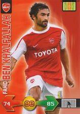 BEN KHALFALLAH # TUNISIA VALENCIENNES.FC CARD CARTE PANINI ADRENALYN FOOT 2010