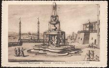 cartolina FRASCATI convitto mondragone-fontana del belvedere come era nel 1600
