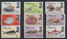 Mauritius QEII 1969 Fish Set To $5 MNH JK179