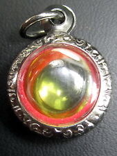 Magic Green Pendant Naga Eye Stone Holy Rich Lucky Blessed Amulets