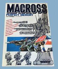Macross Perfect Memory book Rare