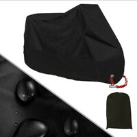 M Size Black Waterproof Motorbike Cover Motorcycle Breathable Vented Cover UK