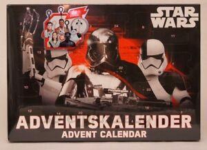 Star Wars Adventskalender Advent Calendar Schlüsselanhänger NEU