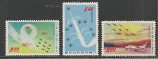 People's Republic Of China #C70-C72 VF MNH - 1960 $1 to $5.00 Plane Formations