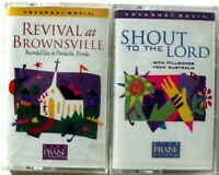 Praise And Worship Shout To The Lord Revival At Brownsville Cassettes 1996 New