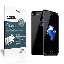 dipos Schutzfolie Apple iPhone 7 (Vorder- und Rückseite) Kunststoff-Glas Folie