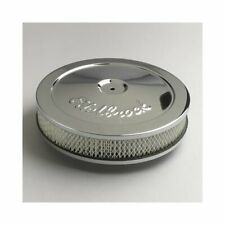 "Edelbrock Pro-Flo Series Air Cleaner 10"" Dia Round White Paper Element 1208"