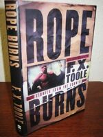 1st Edition Rope Burns F.X. Toole Stories Million Dollar Baby First Print Boxing