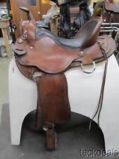 "Brennemans Custom Gaited Horse Trail Saddle 16"" Lightly Used Amish Maker"