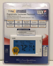 Lux Products TX9600TS Programmable Large Touchscreen Heating Cooling Thermostat