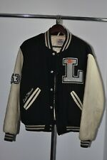 "Levi's College Baseball Athletic Sports Varsity Bomber Jacket S/36-38"" Vintage"