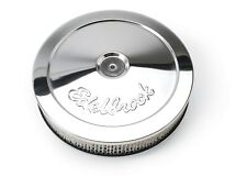 "Edelbrock 1208 Pro-Flo Air Cleaner Fits 5-1/8"" Carburetor Round Chrome"