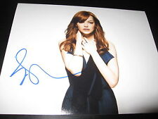 EMMA STONE SIGNED AUTOGRAPH 8x10 PHOTO SPIDERMAN BABE IN PERSON SEXY SHOOT COA D
