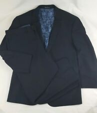 ENGLISH LAUNDRY Mens Striped Wool Black 2 Piece Suit Size 42R -  W36 X 28