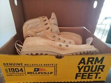 Mens BELLEVILLE 310 ST Steel Toe Military Hot weather Tactica Boots Size 11.5R.